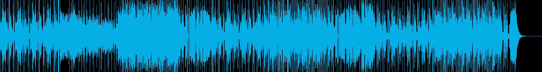 熱帯夜をのり切るメタルなファンク・ロックの再生済みの波形