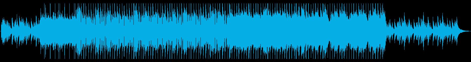 切なくも美しいピアノのポップバラードの再生済みの波形