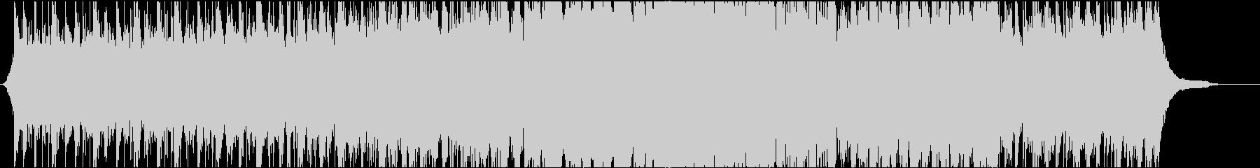 映像向け 爽やかなオーケストラ 壮大の未再生の波形