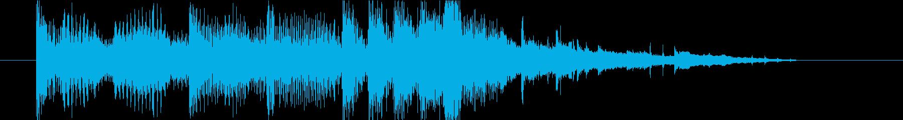 ドラムンベース/エレクトロテック。...の再生済みの波形