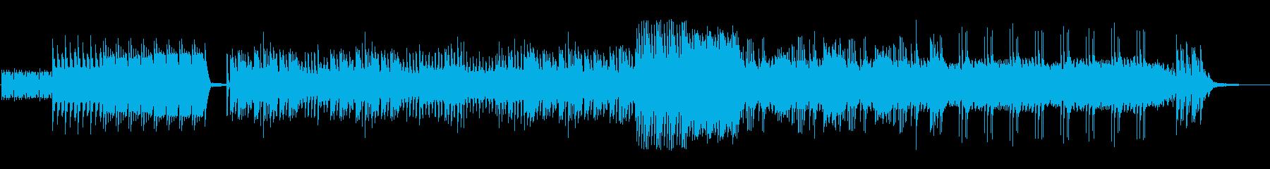 元気で力強いピアノソロ2の再生済みの波形