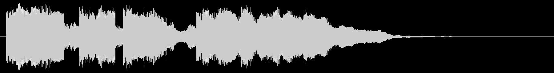 コミカルな音 マヌケなフレーズ 面白い音の未再生の波形