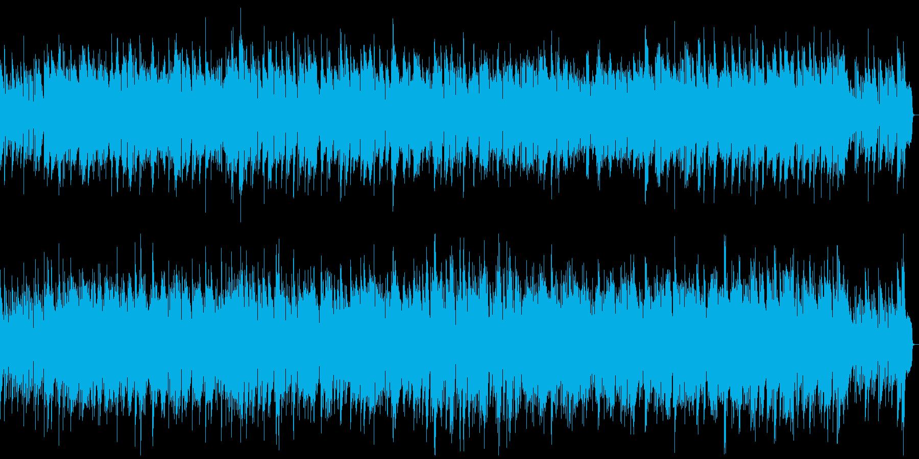 オーボエののんびりイージーリスニングの再生済みの波形