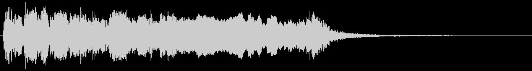 ネオクラシカルなメタルギターフレーズの未再生の波形