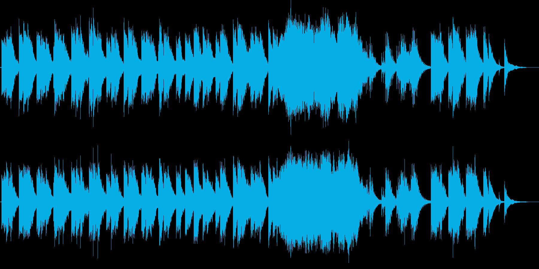 幻想的な、英詩BGM系歌モノの再生済みの波形