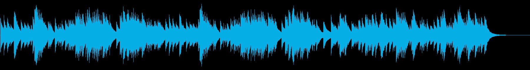 G線上のアリア 72弁オルゴールの再生済みの波形