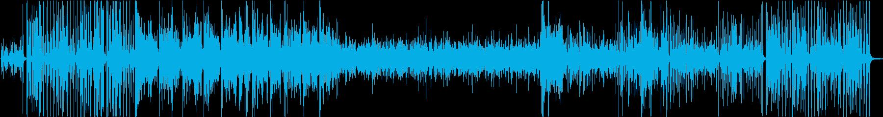 ジャズクラブの再生済みの波形