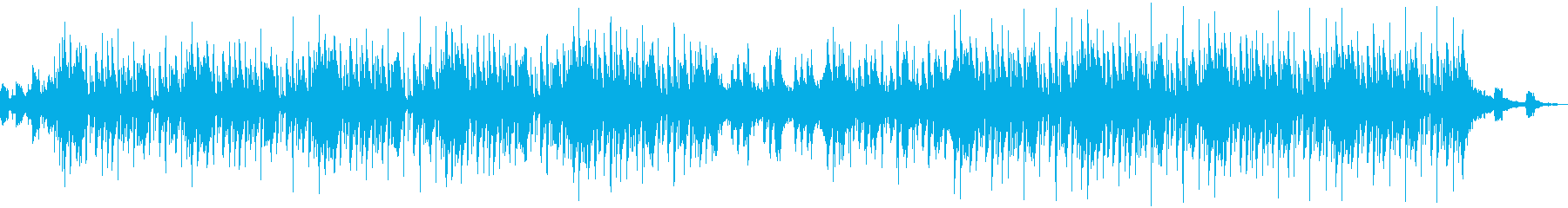 Oriental musicの再生済みの波形