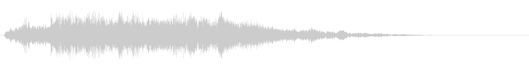 電波ノイズ 5の未再生の波形