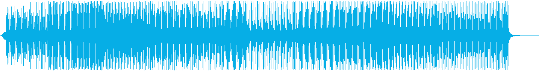 晴れやかで爽やかなPV映像-シンセポップの再生済みの波形