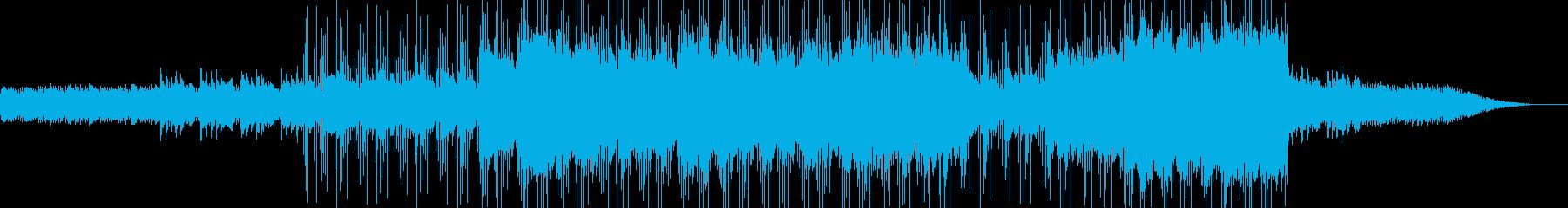 穏やかでファンタジックなBGMの再生済みの波形