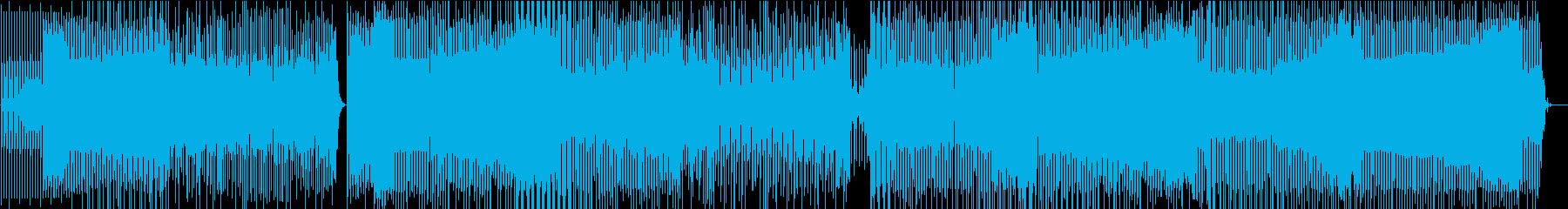 エレクトロハウスの再生済みの波形