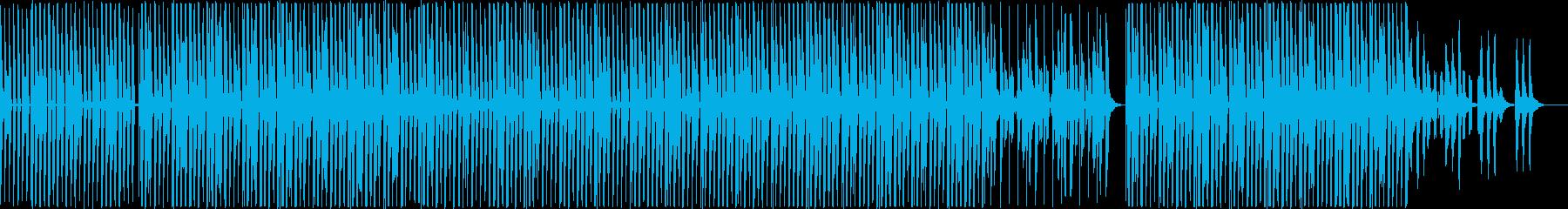 物悲しい 秋 夕暮れ テクノの再生済みの波形