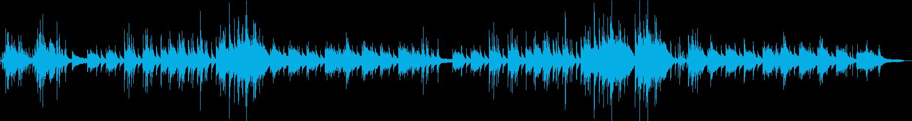 童謡「雪」エモいチルピアノアレンジの再生済みの波形