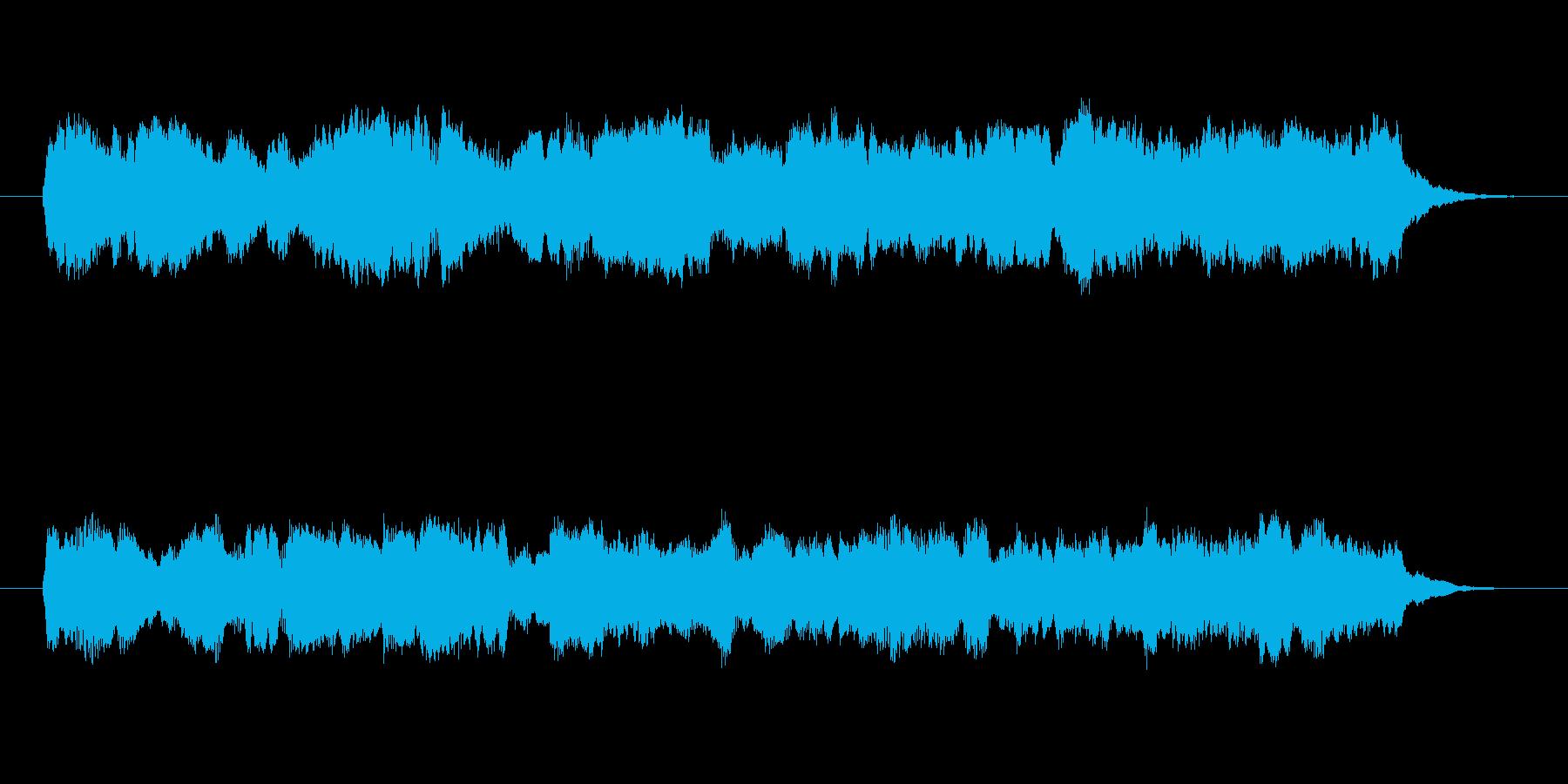 木管楽器を使ったほのぼのした曲です。の再生済みの波形
