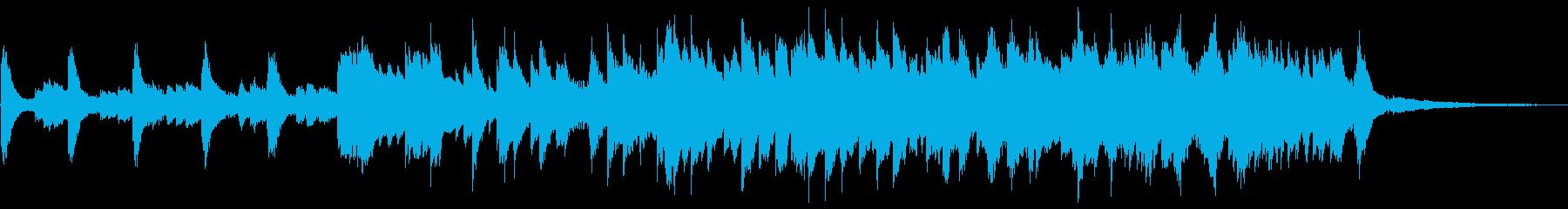 癒し・睡眠導入・ソルフェジオ使用・ピアノの再生済みの波形