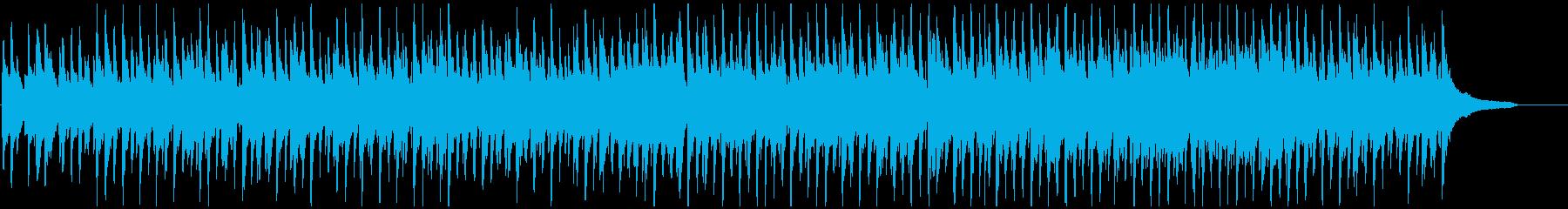 ほのぼのウクレレ生演奏曲 ゆるい散歩気分の再生済みの波形