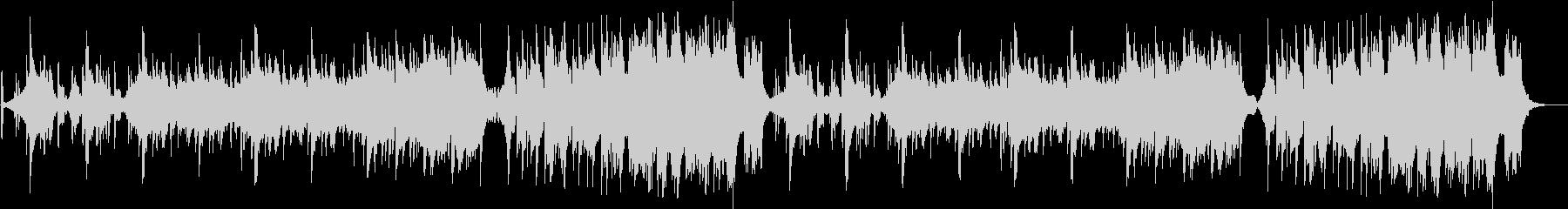 クールなフュージョン曲の未再生の波形