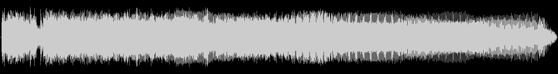 コックロックの未再生の波形