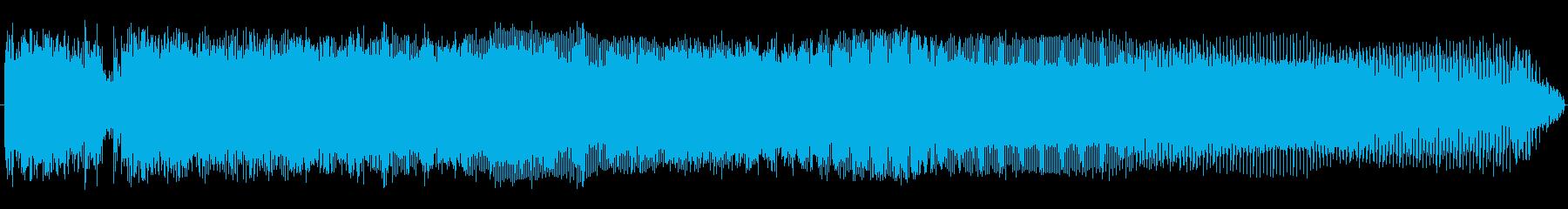 コックロックの再生済みの波形