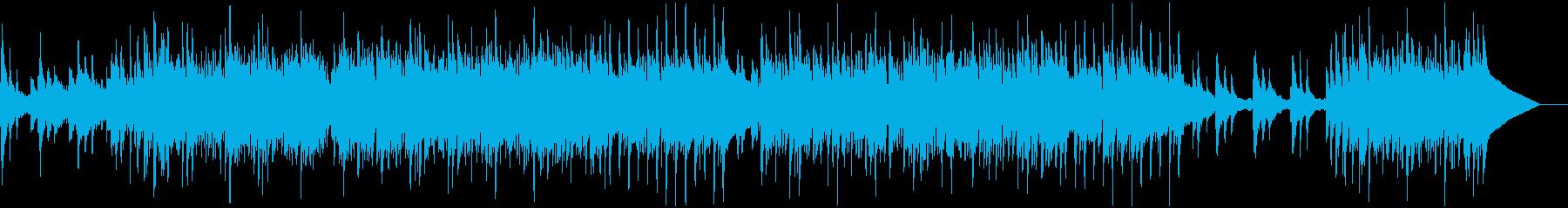 シンプルで美しいウクレレサウンドの再生済みの波形