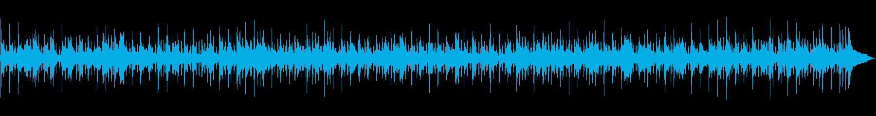 フレンチワルツ、旅番組のBGMの再生済みの波形