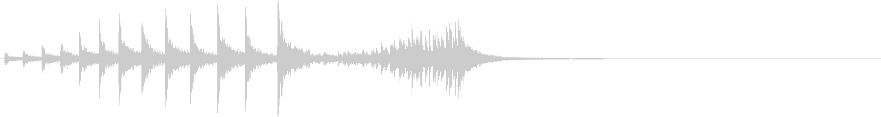 ティンパニファンファーレ:2021...の未再生の波形