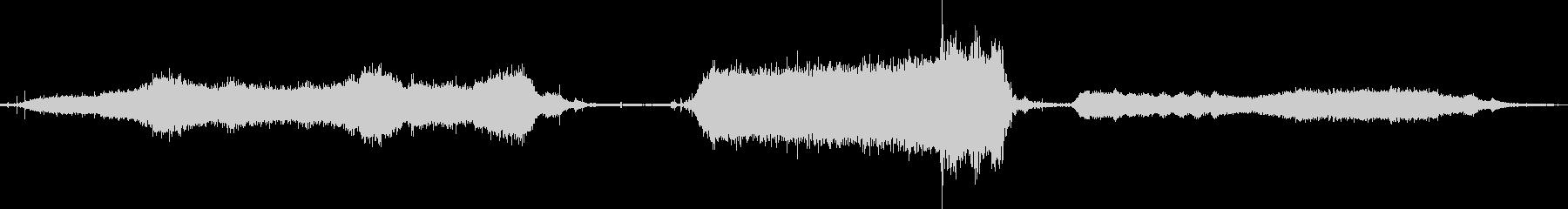 モータードライヤードライヤーの未再生の波形