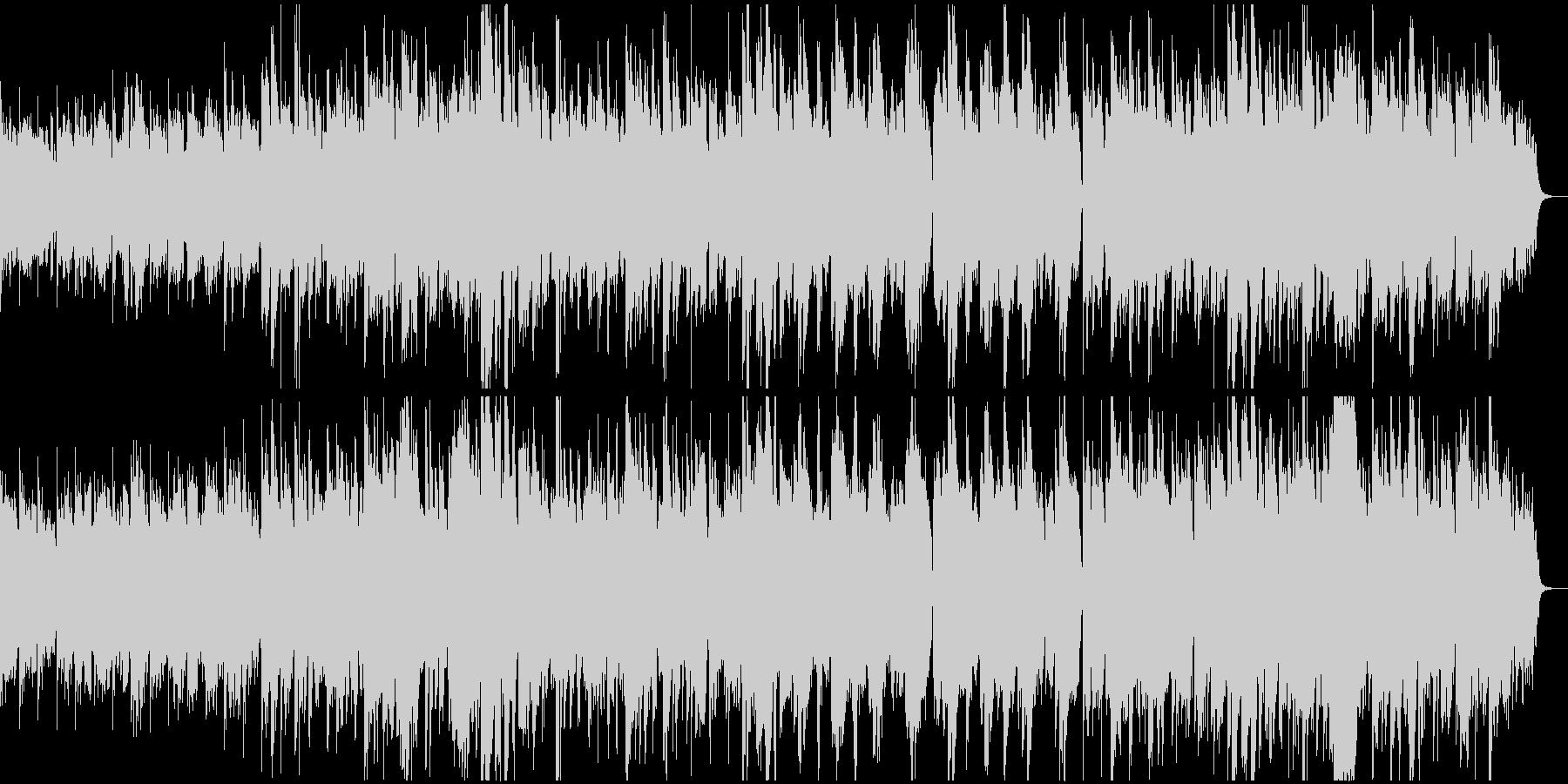 神秘的で柔らかな和風BGMの未再生の波形