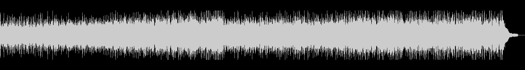伝統的な軽快なフォークミュージックの未再生の波形
