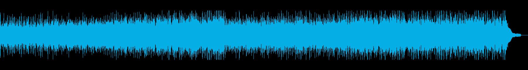 伝統的な軽快なフォークミュージックの再生済みの波形