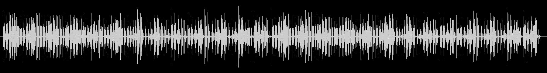 ゆったりとしたリズムでのエレピ曲の未再生の波形