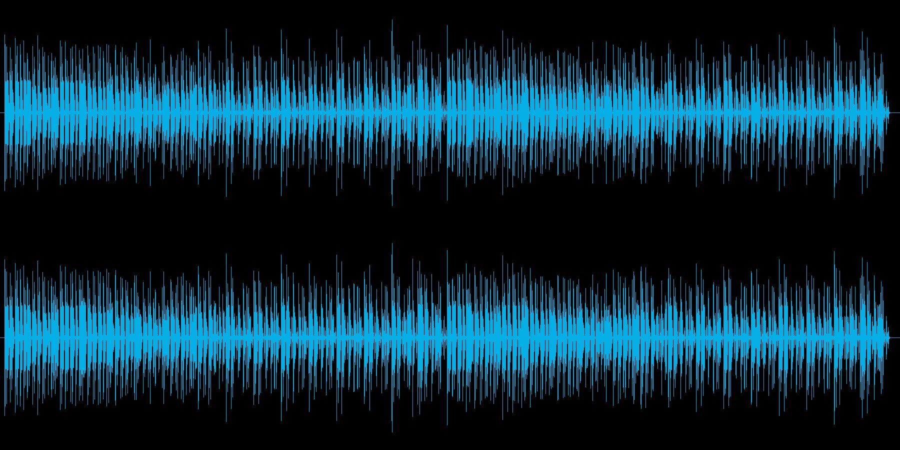 ゆったりとしたリズムでのエレピ曲の再生済みの波形