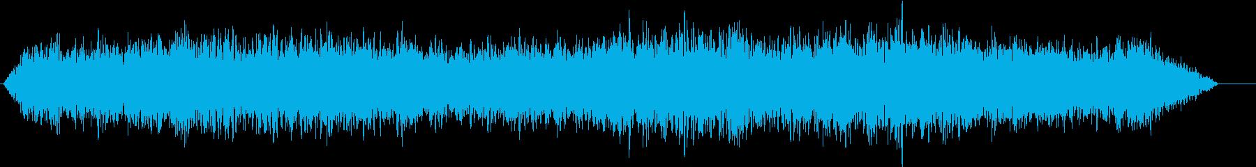 磁気ドローンの再生済みの波形