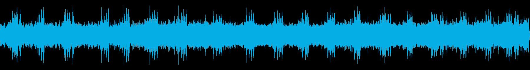 虫【初秋、夜遅く、学校】の再生済みの波形