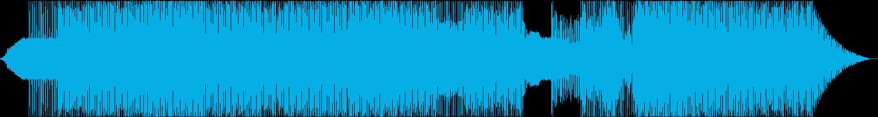 打込み・シンセアルペジオ・サイドチェインの再生済みの波形