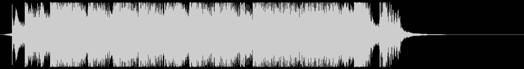 キュートなアニメ系ジングル・アイキャッチの未再生の波形