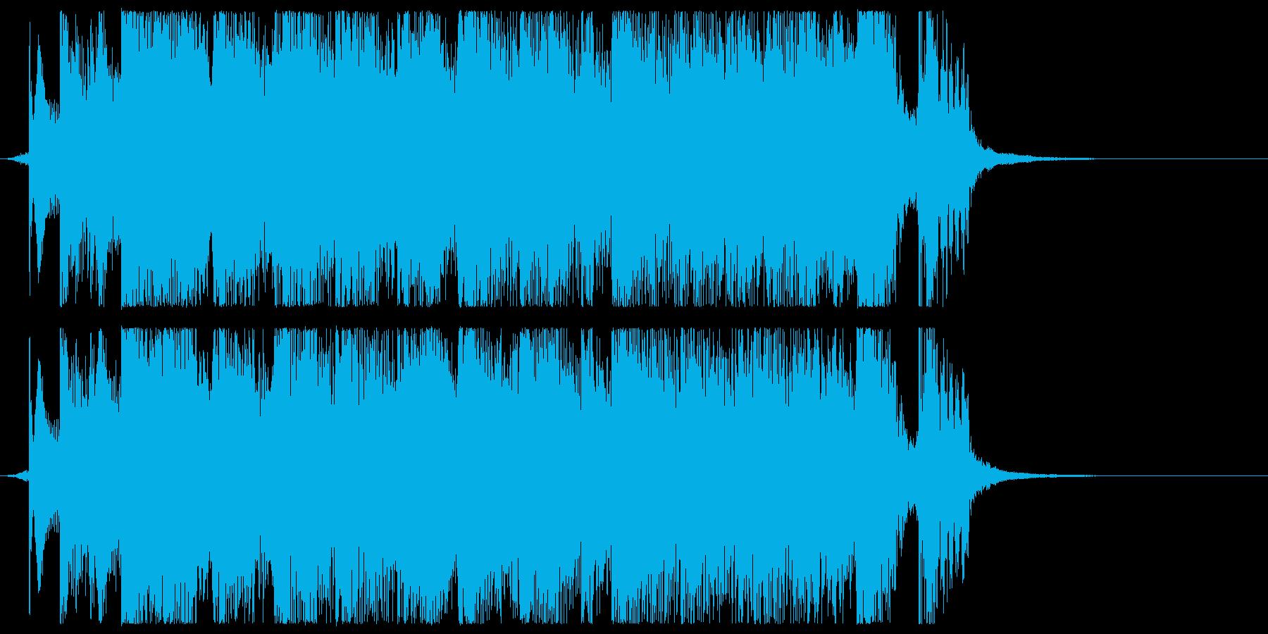 キュートなアニメ系ジングル・アイキャッチの再生済みの波形