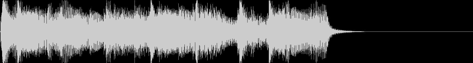 ほのぼの感満載なアイキャッチの未再生の波形