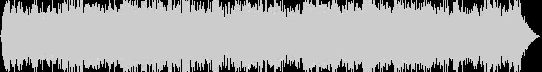 ドラムレスのアンビエントの未再生の波形