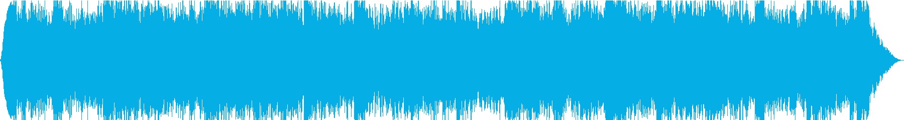 ドラムレスのアンビエントの再生済みの波形