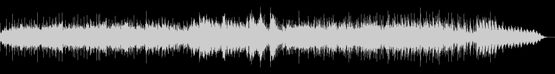 実験音楽的なアンビエントIDMの未再生の波形