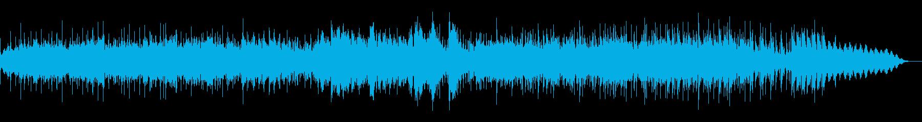 実験音楽的なアンビエントIDMの再生済みの波形