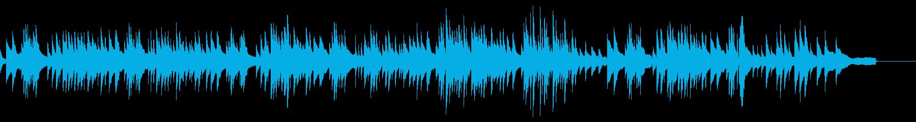 シューマンの「トロイメライ」(夢)の再生済みの波形