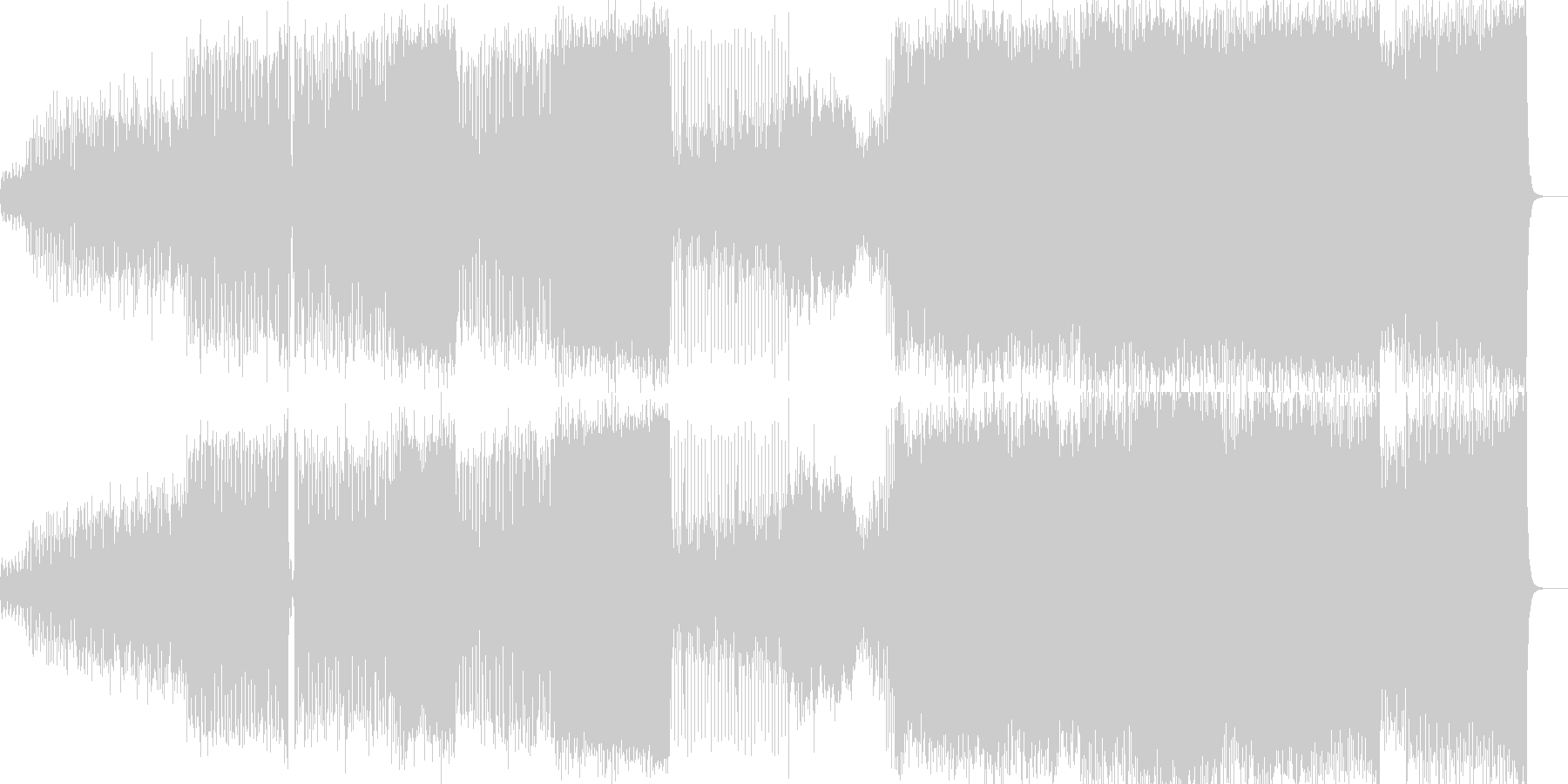 pulseの未再生の波形