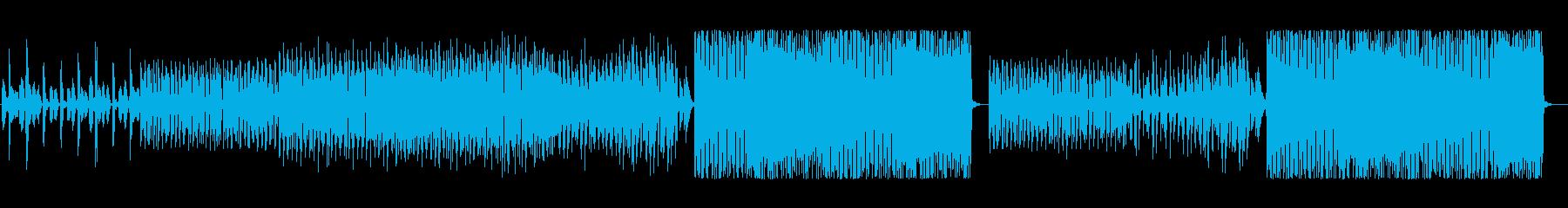 哀愁漂うメロディーが特徴のEDMの再生済みの波形