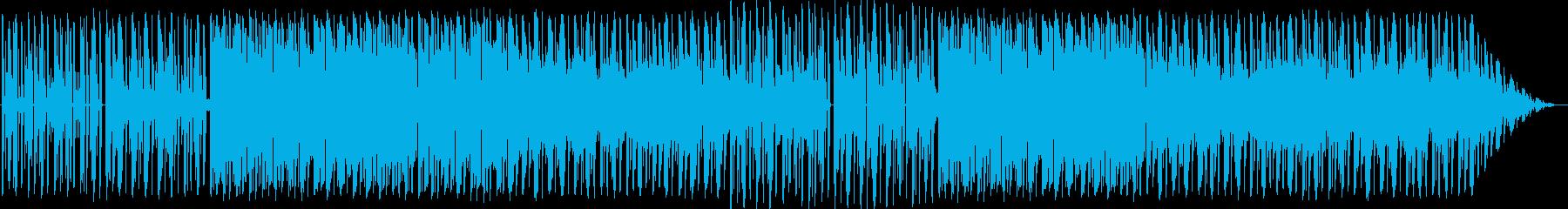 ファンキーでエレクトロニック。の再生済みの波形