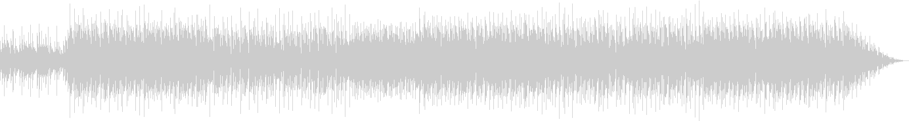 トロピカルなイメージの未再生の波形
