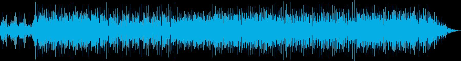 トロピカルなイメージの再生済みの波形