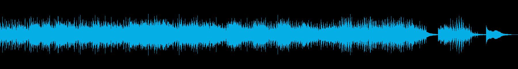 爽やか切ないクラシック調感動癒しピアノの再生済みの波形